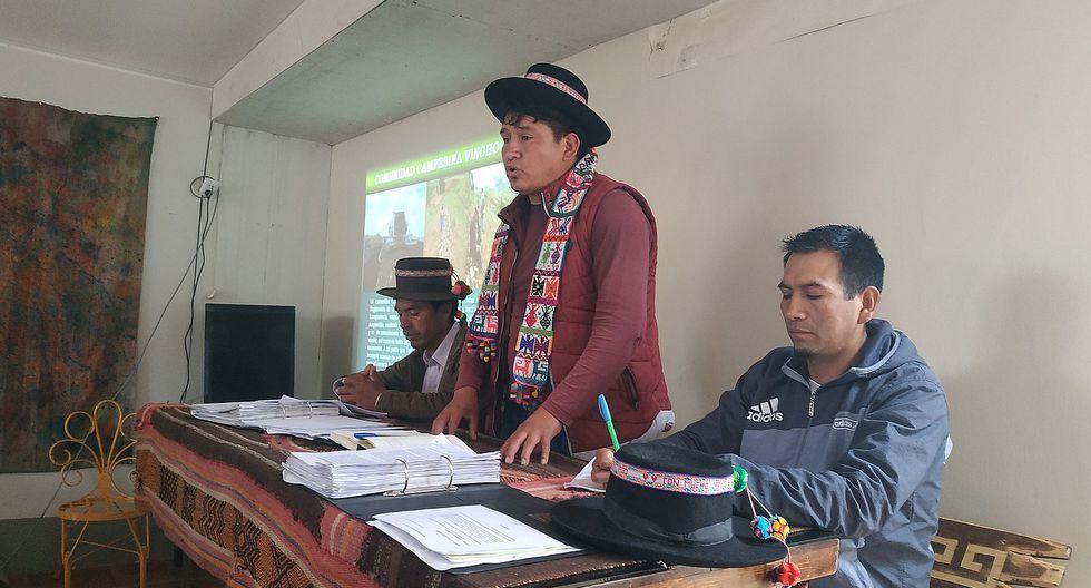 Pobladores de Vinchos denuncian usurpación e incumplimientos por parte de TGP