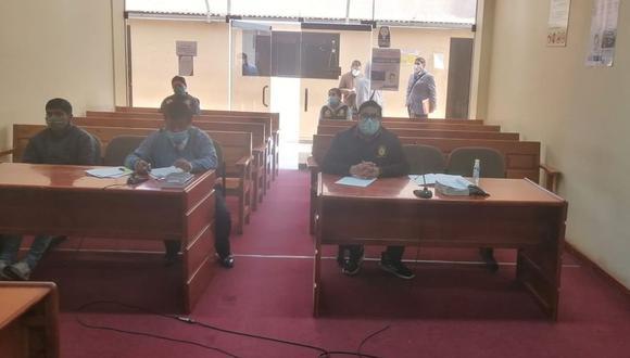 El representante del Ministerio Público reiteró la orden de captura del resto de implicados. (Foto Referencial)