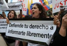 América Latina es donde más se ha degradado la libertad de prensa, según ranking mundial
