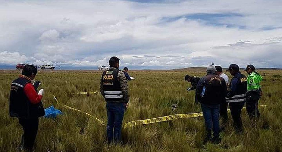 Hallan cadáver de un varón en vía Desaguadero - Kelluyo