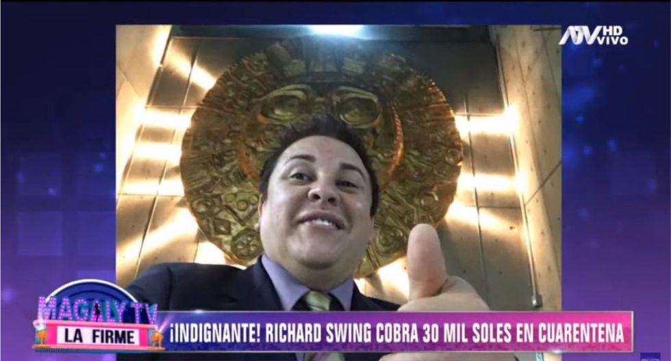 Ministerio de Cultura habría pagado S/30 mil a Richard Swing en medio de la cuarentena. (Foto: Captura)