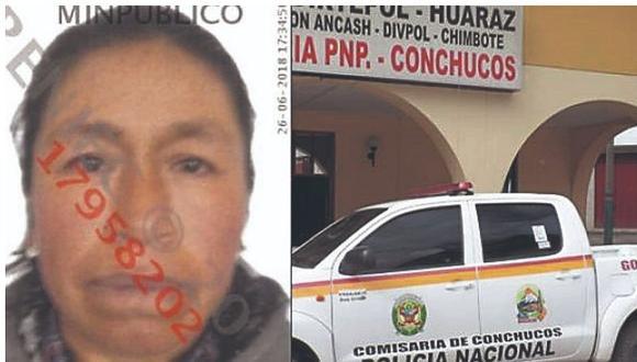 Ancash. Juana Alejos Campos fue hallada responsable de ordenar asesinar a su esposo. (GEC)