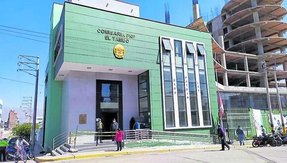 El funcionamiento de la comisaría volvieron a la normalidad, al mando del comandante PNP Cesar Pastor.