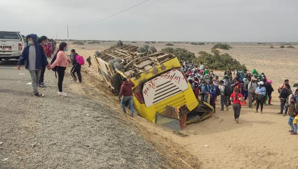 Policía informó que trabajadores de empresa Cerro Prieto fueron auxiliados a provincia liberteña.