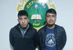 Detienen a presuntos ladrones en la ciudad de Juliaca