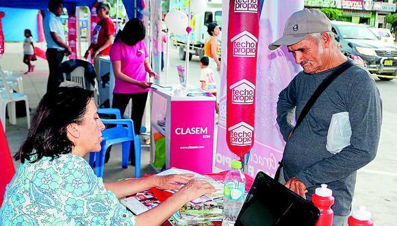 Bono Mivivienda crece a 25, 370 soles para familias de bajos recursos