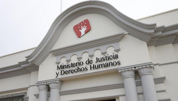 El Minjus cuestionó la decisión por mayoría del Tribunal Constitucional sobre la vacancia presidencial por incapacidad moral permanente. (Foto: GEC)