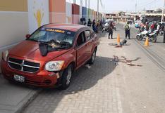 Policía ebrio atropella y deja grave a octogenario en Tacna