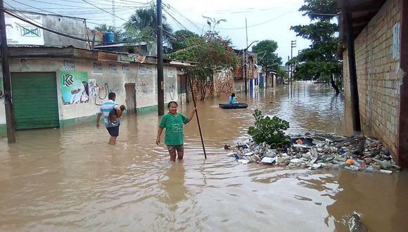 Otras regiones registrarán lluvias de moderada a fuerte intensidad. El Instituto Nacional de Defensa Civil (Indeci) exigió que se vigilen el caudal de los ríos (Foto: Daniel Carbajal)