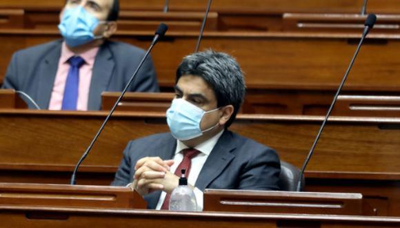 Martín Benavides, ministro de Educación, afronta hoy una moción de interpelación en el Congreso (Foto: PCM)