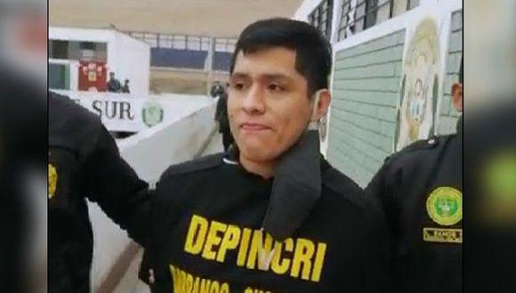 'Kevin Yi' fue capturado por agentes de la Depincri Chorrillos. (Foto: PNP)