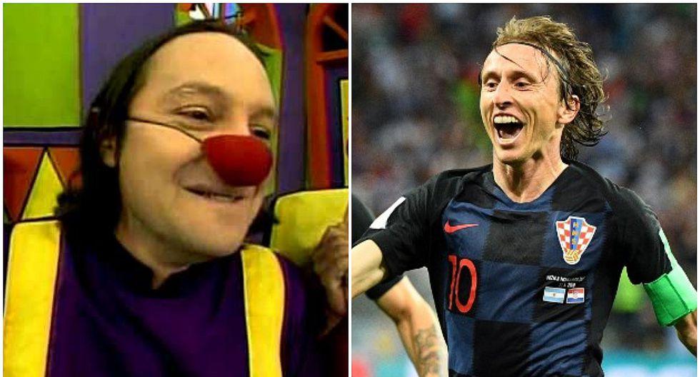 Gonzalo Torres bromeó con su parecido a Luka Modric, el mejor jugador del Mundial (FOTOS)