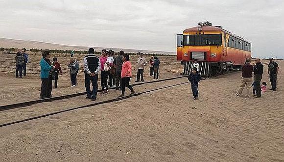 Arica: Multarán con 50 mil pesos a aquellos que estacionen sus vehículos en rieles del Ferrocarril Tacna y Arica