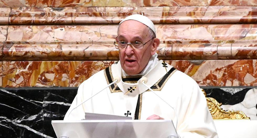 Imagen del papa Francisco. (Vincenzo PINTO / POOL / AFP).