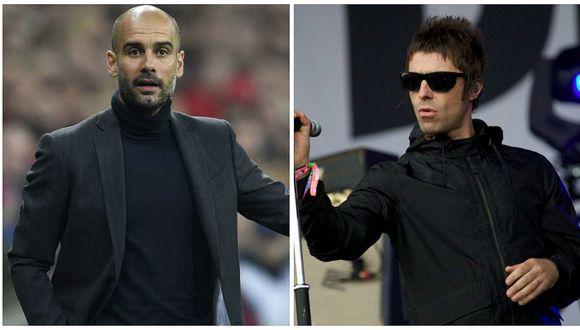 La dura crítica de Liam Gallagher a Guardiola por su desempeño en el Manchester City