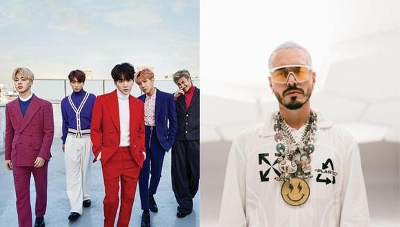 La gala de los MTV Video Music Awards contará con actuaciones de BTS y J Balvin. (Fotos: @jbalvin/@bts.bighitofficial)
