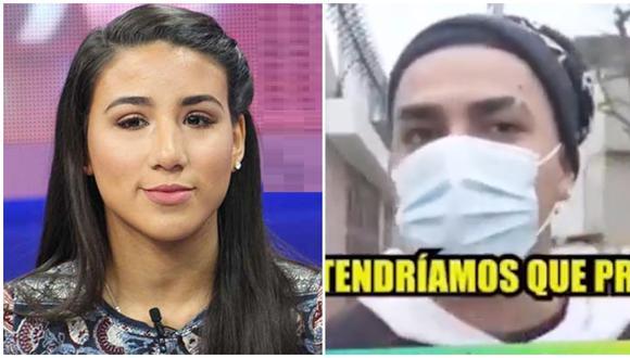 """'Youna' responde a Samahara Lobatón por decir que Jesús Barco sí es """"un hombre maduro"""". (Fuente: Captura ATV / Willax TV)"""