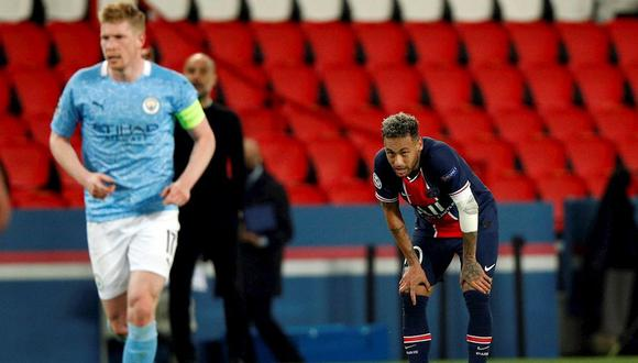 Neymar busca disputar su segunda final consecutiva de Champions League con PSG. (Foto: EFE)