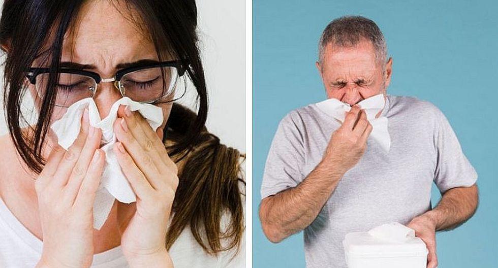 ¿Resfrío o alergia?