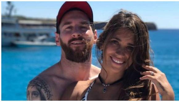 Leo Messi está de vacaciones en Ibiza pero extraño detalle en su rodilla preocupó a miles (FOTO)