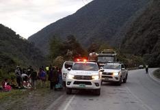 Bus interprovincial se desbarranca en Puno y deja tres pasajeros heridos de consideración