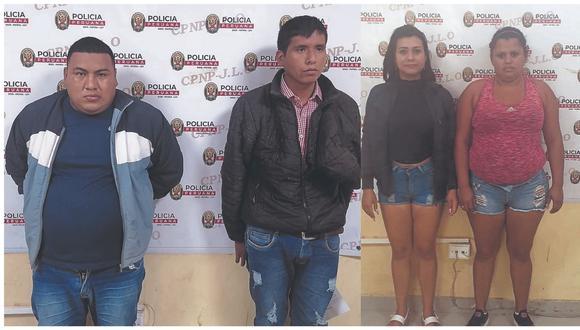 Asaltaban a sus víctimas con cuchillos. También detienen a dos venezolanas por robo de dinero a su compatriota en su vivienda.