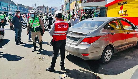 Más de un millón de soles en multas por hacer viajes ilegales en Arequipa