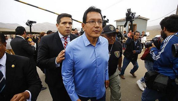 Poder Judicial dicta 18 meses de prisión preventiva contra Félix Moreno por caso Odebrecht