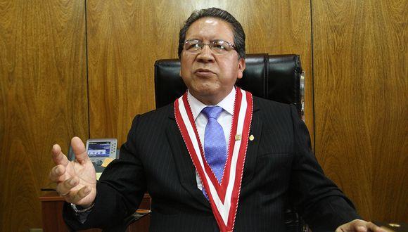 """Sánchez afirma que presentación de Chávarry en el Congreso fue """"penosa para el Ministerio Público"""""""
