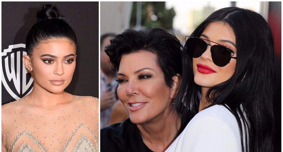 Kris Jenner compartió una tierna foto con fuerte revelación sobre Kylie Jenner