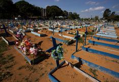 Brasil registra 1.412 muertes y 49.757 contagios en las últimas 24 horas