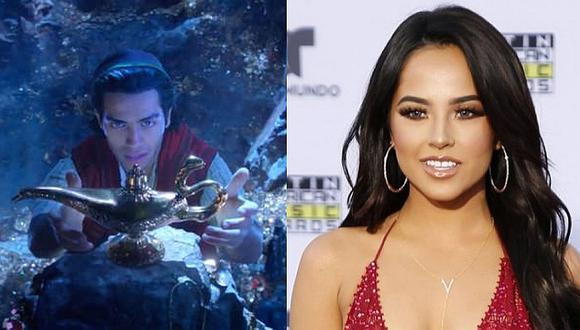 Becky G interpretará 'Un mundo ideal' para la nueva versión de 'Aladdin' (VIDEO)