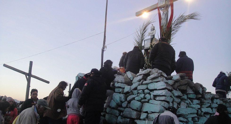 Cientos acuden a cerro Casapatak en Jacobo Hunter en Viernes Santo (FOTOS)