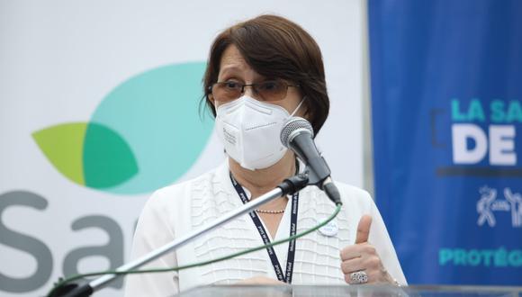 Pilar Mazzetti, ministra de Salud, aclara información sobre medidas ante segunda ola de casos por COVID-19. | Foto: GEC