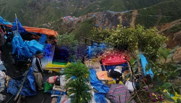 Los pobladores piden el apoyo a las autoridades del distrito de Ayapata. (Foto: Difusión)