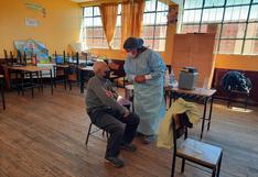 Vacunarán a mayores 60 años de edad hasta el jueves 3 de junio