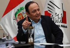"""Walter Gutiérrez rechaza norma que elimina inmunidad: """"Hay vicios de inconstitucionalidad"""""""