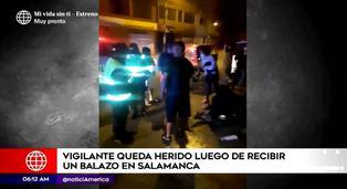 Vigilante extranjero fue baleado mientras trabajaba en Salamanca