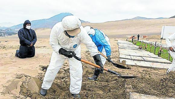 Marzo de este año se ha convertido en el mes con la mayor mortalidad desde que inició la pandemia.