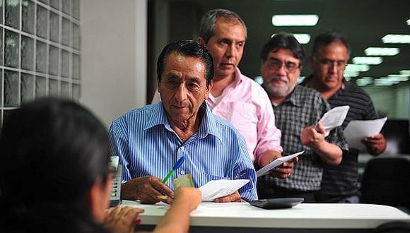 Gobierno eleva las pensiones de los jubilados del DL 19990 desde junio