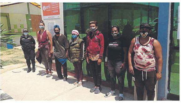 Grupos de extranjeros continúan ingresando de forma ilegal al país por Tumbes