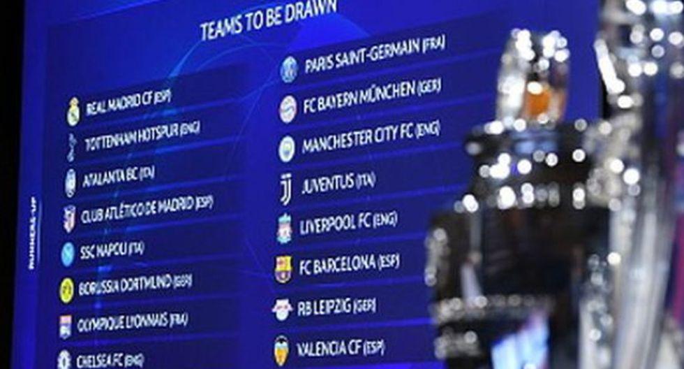Real Madrid vs. Manchester City: Así quedaron los emparejamientos en la Champions League
