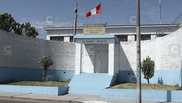 Tres adolescentes fugaron del Centro Juvenil de Rehabilitación en Arequipa