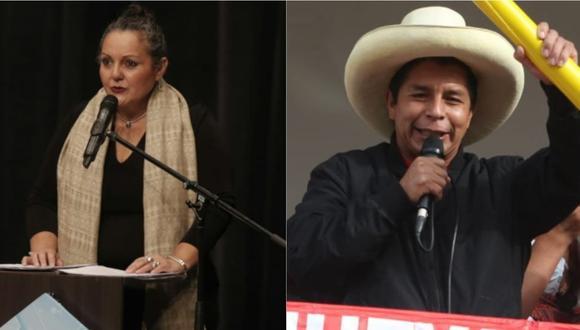 Celeste Rosas defiende a Pedro Castillo por polémicas declaraciones sobre feminicidios. | Foto. GEC