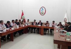 Consejo Regional aprobó la interpelación al director de Energía y Minas