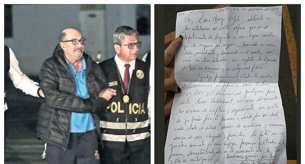 Carta de Edwin Donayre: Me hicieron chequeo médico en un área maloliente