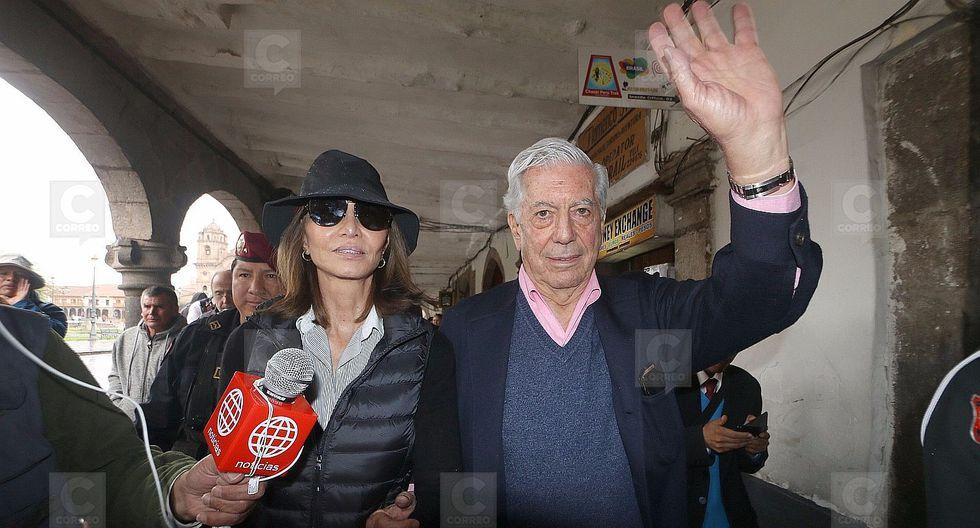 """Mario Vargas Llosa: """"Me caso en Cusco"""""""