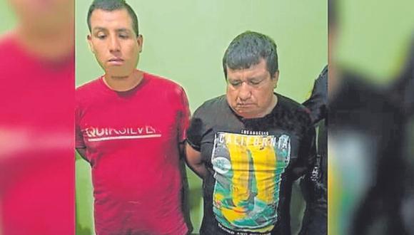 Marcos Arquiño golpeó y arrebató mochila con dinero a empresario agropecuario, mientras Luis Estrada manejó el vehículo en el que fugaron.