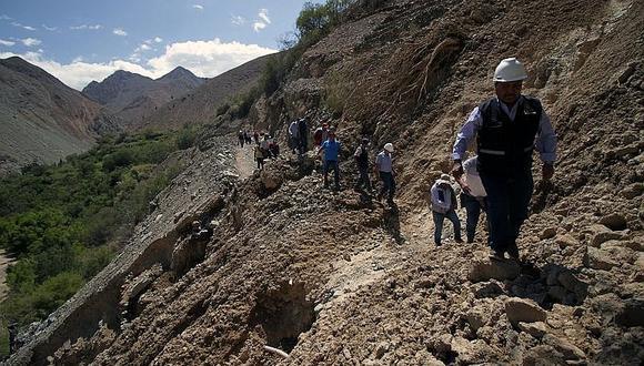 Rehabilitación de vías durarían dos semanas en Chucatamani