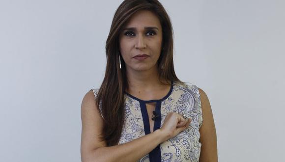 Verónica Linares reveló que es acosada por Winston Ezequiel Manrique Canales. (GEC)